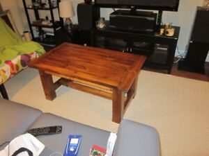 Cedar  Farmhouse  style coffee tables