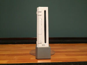 Wii with 20 games and fitness board.