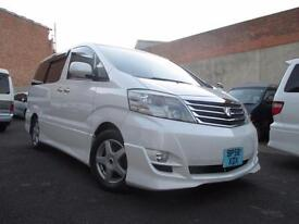 2007 toyota alphard ms prime selection Both Electric Doors Camera 4wd dvd gps