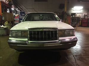 1990 Lincoln Town Car Familiale