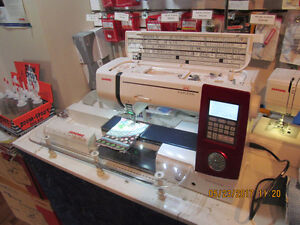 JANOME SEWING MACHINES AND SERGERS