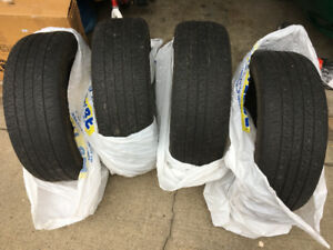215/55/17 Goodyear set of 4 tires
