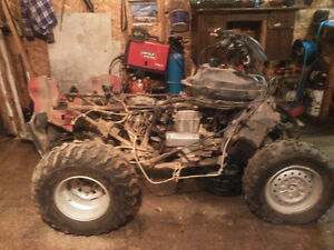 PARTS..AND. 2500 pound winch......2an4wheel drive KIT