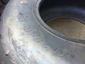 Two 25-10-12 tires