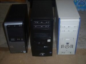 3 tower computers