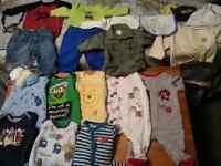 Boys 0-3months clothing