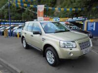 2007 57 LAND ROVER FREELANDER 2 XS 2.2 TD4 AUTO IN SAND BEIGE # FULL LEATHER #