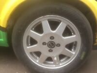 Speedline 4x100 rally wheels Vauxhall vw Mazda alloys