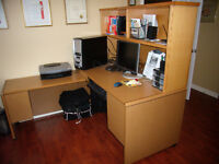 Office Solid Wooden Desk