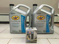 Brand New Sealed Engine oil and filter(NEVER USED)