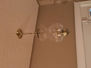 TWO BEAUTIFUL CEILING LIGHTS
