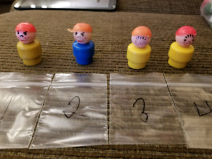 Vintage fisher price little people boyd