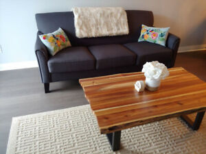 Modern Gray Couch, 3 Seat, Like new