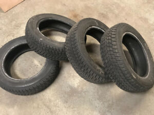 4 winter tires Toyo G-02 plus 175/65R15