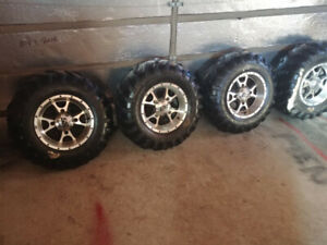 Can-Am rims and tires