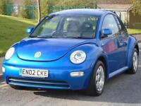 VOLKSWAGEN BEETLE 1.6 2002 RHD,ONLY 82K,FULL 12 MONTHS MOT,EXCELLENT CONDITION