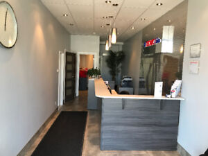 Commercial / Offices renovated space for rent 600sf