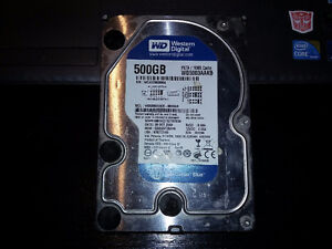 WD 500 Gigs PATA / 16MB Cache Hard Drive...