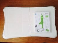 Nintendo Wii Fit Board for Nintendo Wii Console + Game - All Boxed in Clean Condition - £15 Only