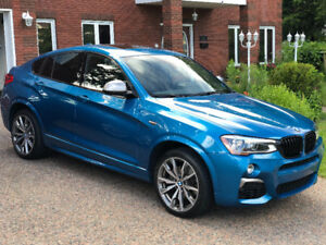 2017 BMW X4 M40i, 14,000Kms Warranty and Free Maintenance