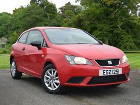 SEAT Ibiza 1.0 SOL SportCoupe 3dr (red) 2016