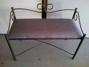 Bench - with removable cushion you can recover with own fabric