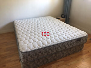 Lightly used queen size mattress