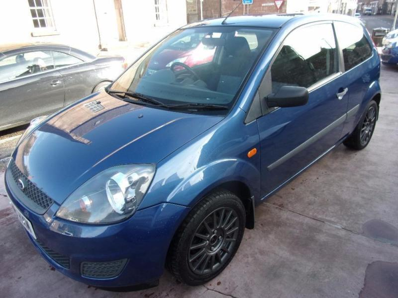 FORD FIESTA 1.2 style 2008 Petrol Manual in Blue