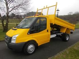 FORD TRANSIT 350 100PS TIPPER 63 REG 74,700 MILES SIX SPEED