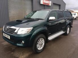 2014 Toyota Hilux Invincible 3.0 Double Cab 4x4 Diesel Pickup * AUTOMATIC *