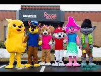 Mascotte,Animation,Événement,Fête d'enfant,CPE,Garderie,Festival