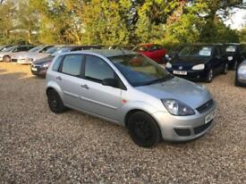 2007 Ford Fiesta 1.2 Style Climate 8 Months MOT Full Service History Low Milage