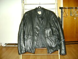 pantalon manteau en cuir