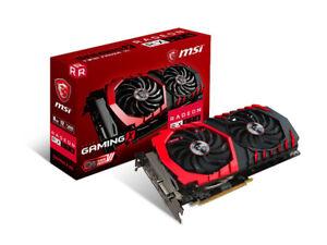 Graphic cards MSI Gaming Radeon RX 570 256-bit 8GB GDRR5
