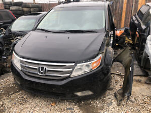 2013 HONDA ODYSSEY FOR PARTS PARTING OUT CARS CAR PARTS