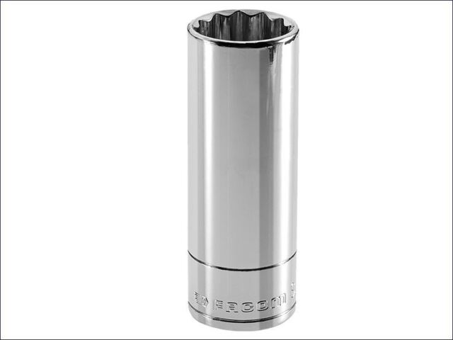Facom - Bi-Hexagon Deep Socket 1/2in Drive 30mm
