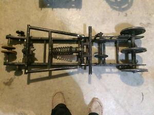 Drag racing suspension, tracks, studs and sprockets for sale Regina Regina Area image 2