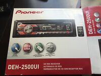 Pioneer Radio, Sony Amp and Subwoofer