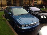 2002 jaguar x type AWD 2.5l with very low kms for sale or trade