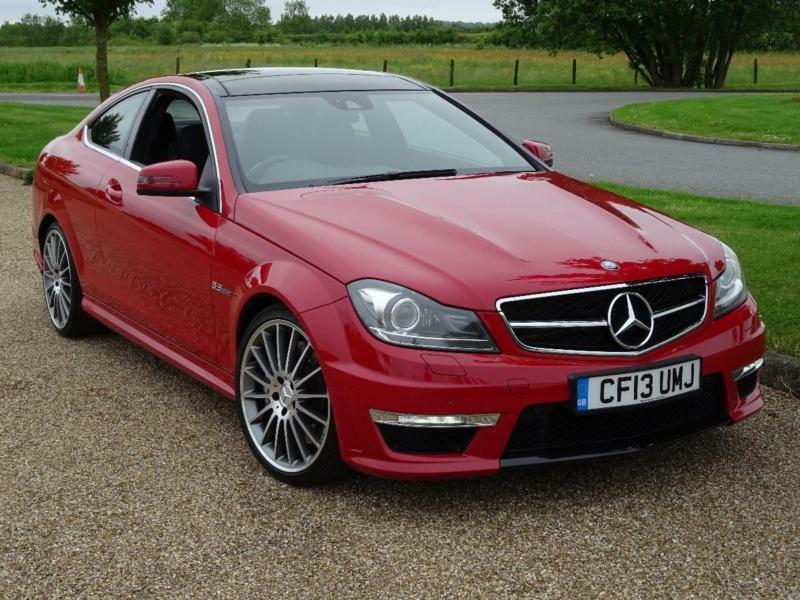 2013 mercedes benz c class c63 amg petrol red automatic. Black Bedroom Furniture Sets. Home Design Ideas