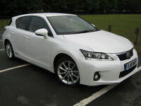 2012 61 REG Lexus CT 200h 1.8 CVT 2012MY SE-I (SOLD)