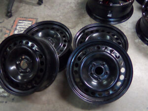 4 OEM rims and tires are sensors. 17x 7 1\2 Fit Ford  Edge, Flex