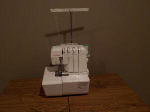 kenmore sewing machine and janome serger