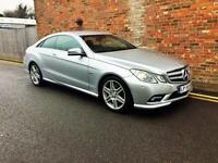2010 Mercedes-Benz E Class 2.1 E250 CDI Blue EFFICIENCY Sport 2dr Rare Manual