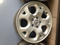 OEM Acura TL rims *fully refinished*