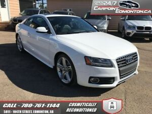 2010 Audi A5 PREMIUM S LINE LOW KMS!!!  AWD COUPE EXCELLENT COND