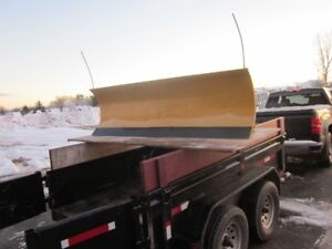 7.5 foot Fisher Power Angle Snow Plow