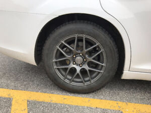 Winter Tires & Rims 225/60R18