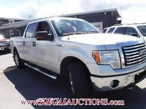 2010 FORD F150  SUPERCREW 4WD