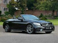 2021 Mercedes-Benz C CLASS DIESEL CABRIOLET C220d AMG Line 2dr 9G-Tronic Auto Co